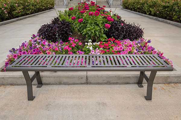LDS Temple Metal Bench Manufacturers