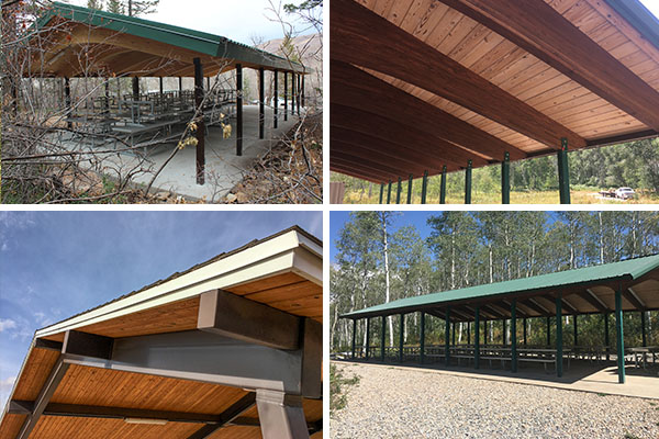 Recreational Pavilion Property Colors