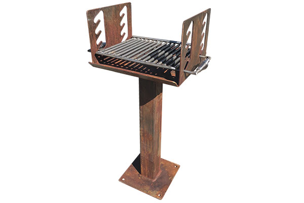 Mild Steel Outdoor Grills